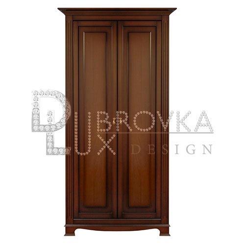 Шкаф лувр el 7210 двухстворчатый - шкафы - спальни - мебель.